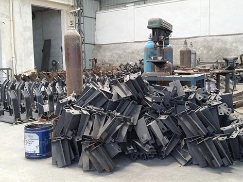 江陵机械设备陈列